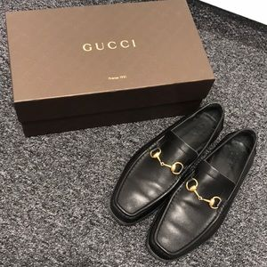 Horsebit Leather Gucci Loafers